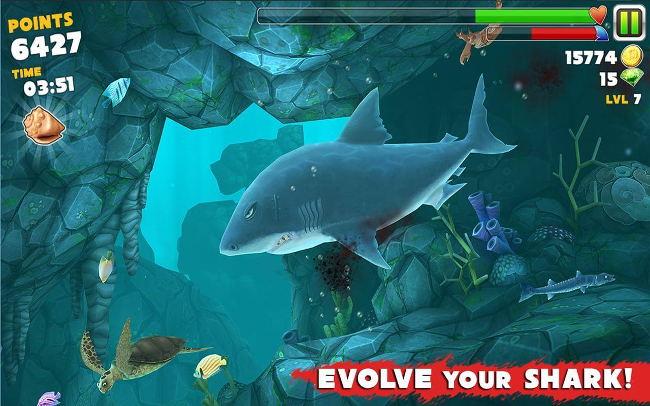play hungry shark evolution free online